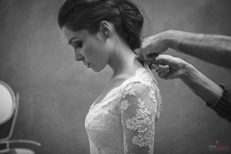 Prueba vestido de novia