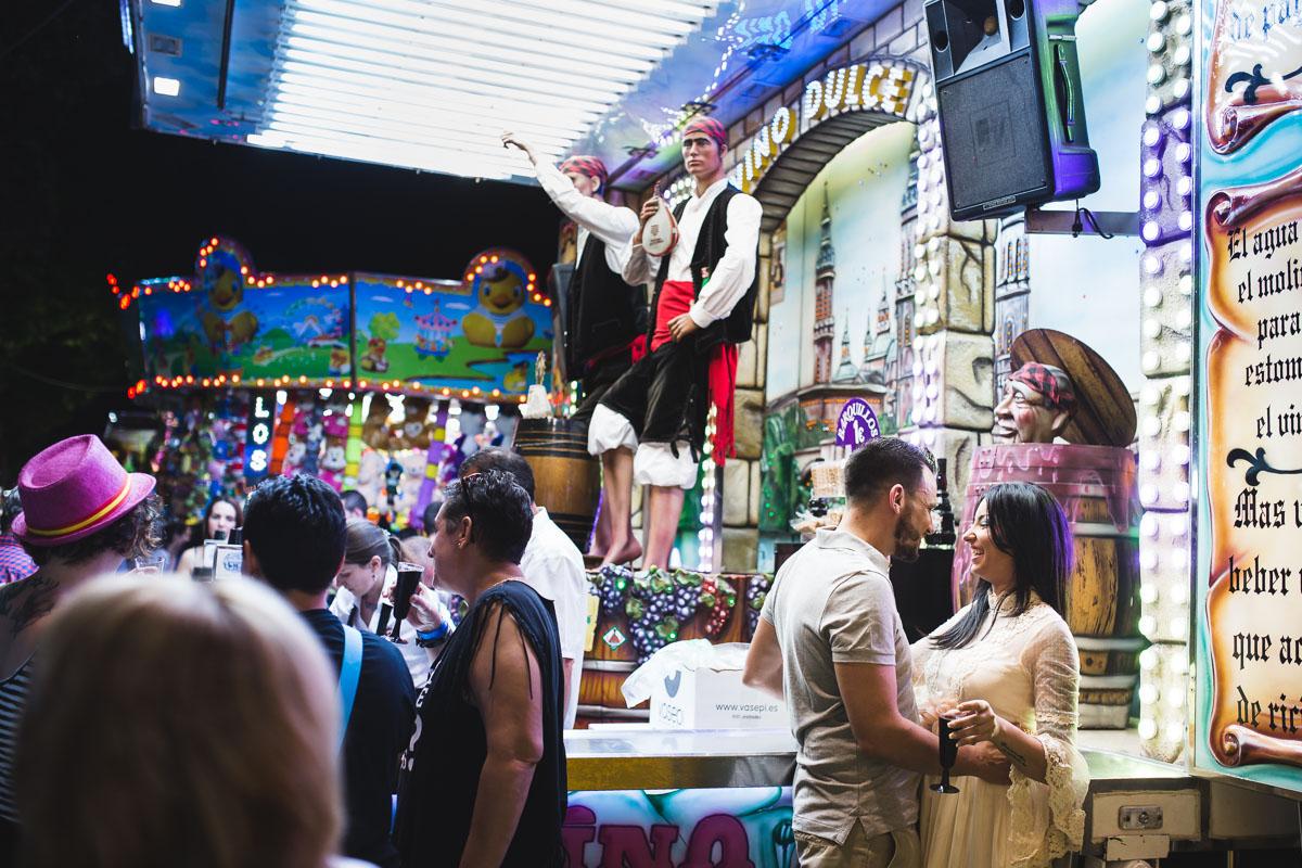 Preboda en la feria de cordoba 18 fran vaquero for Feria de artesanias cordoba 2016