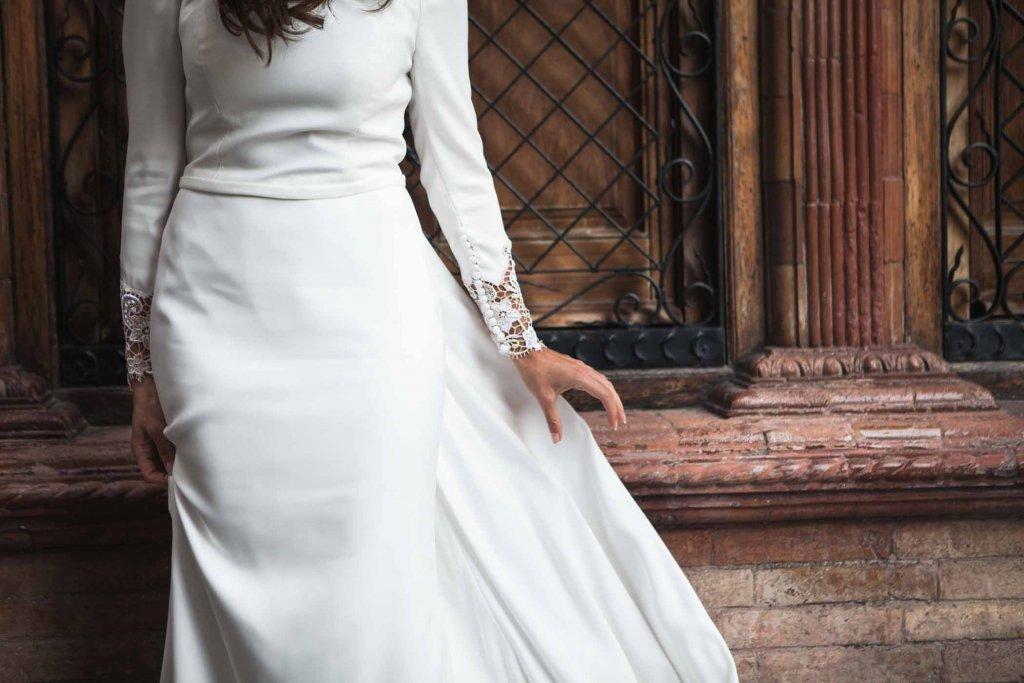 Fotografo en Cordoba, detalle vestido de novia