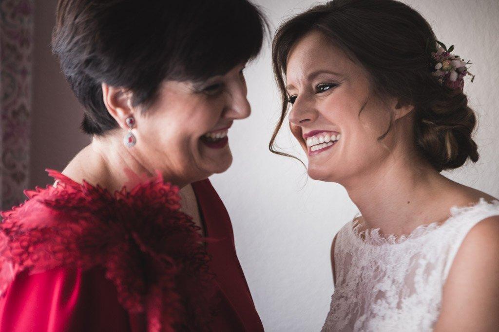 Boda Alcazar y La Bodega, la novia y su madre