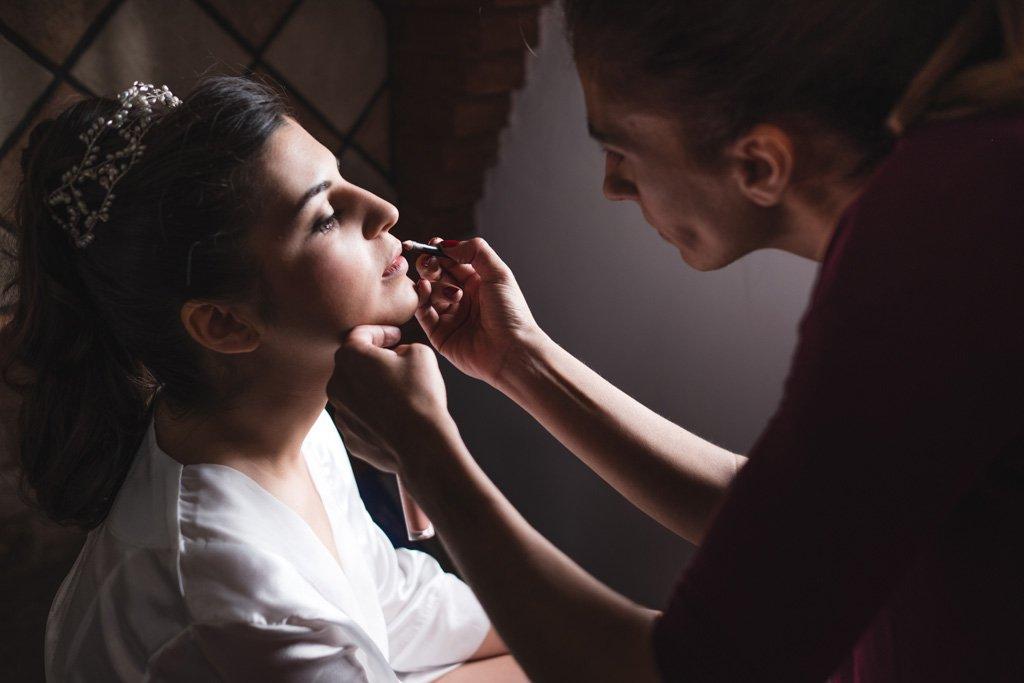 Boda en Montoro, novia y maquillaje