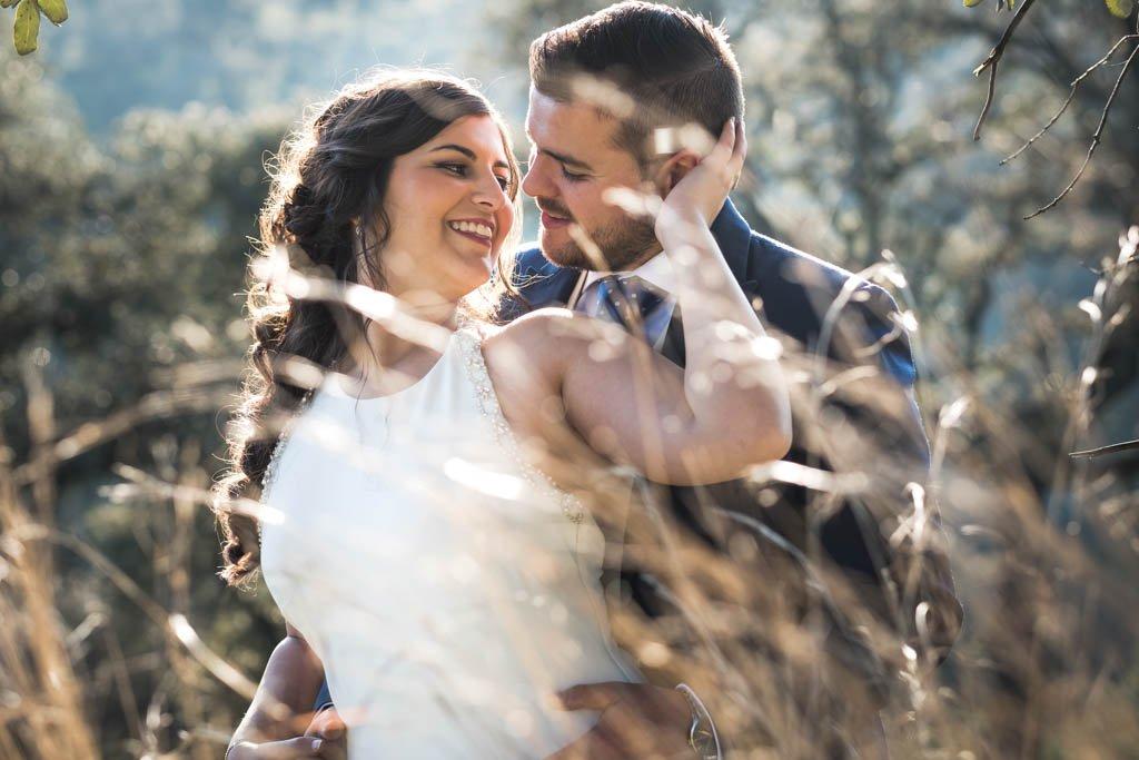 Boda en Montoro, retrato de pareja en postboda